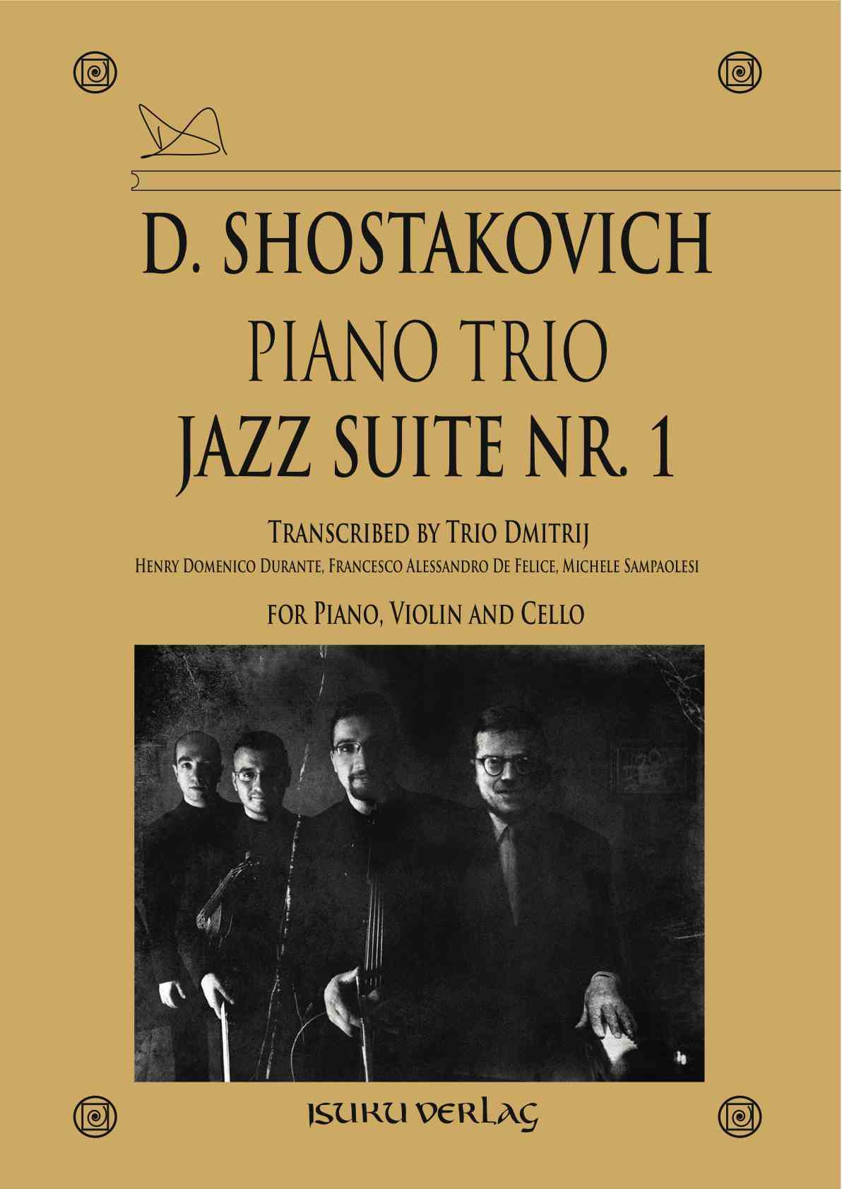 Piano Trio Jazz Suite Nr. 1
